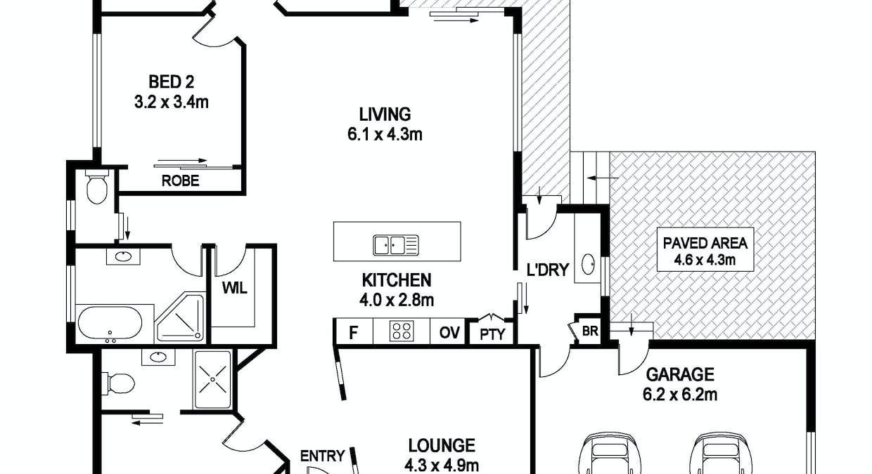 22 Kyla Crescent, Port Macquarie, NSW, 2444 - Floorplan 1