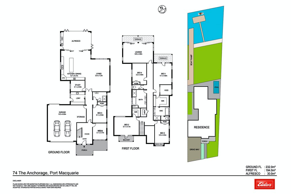 74 The Anchorage, Port Macquarie, NSW, 2444 - Floorplan 1