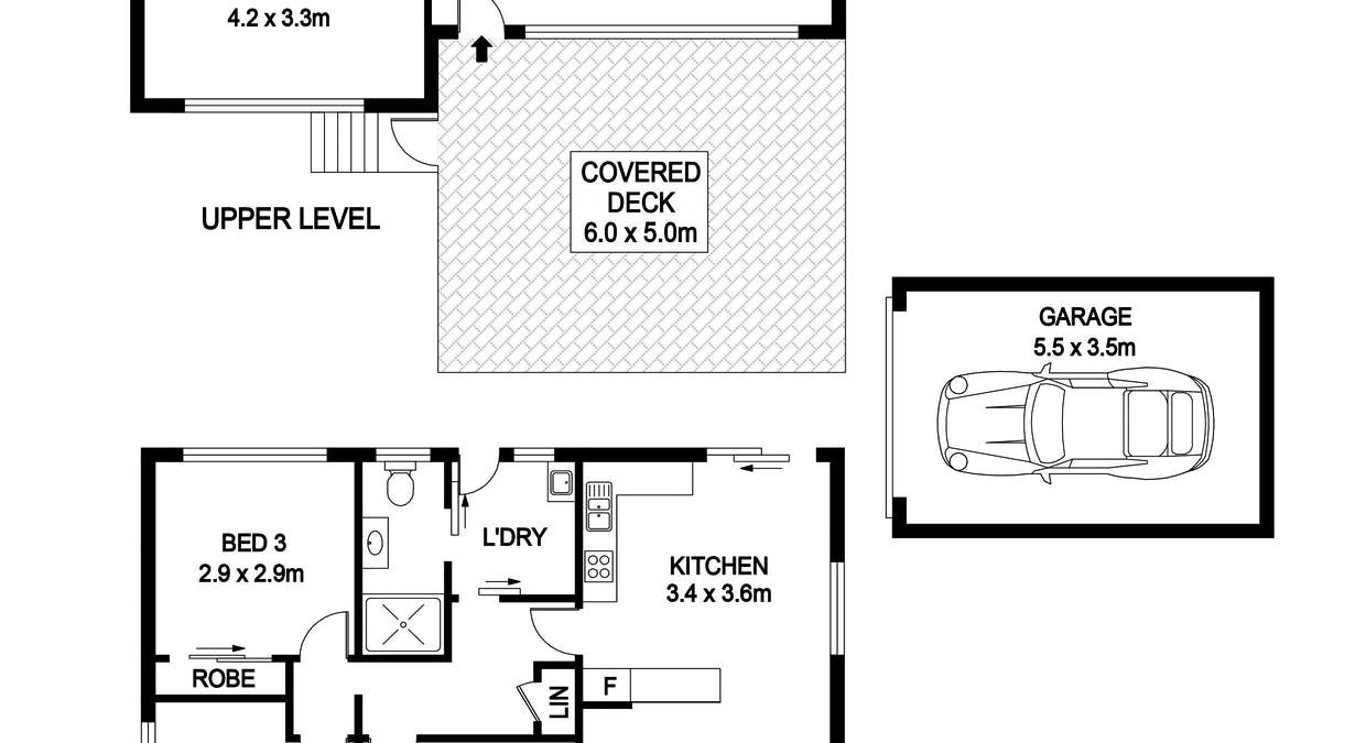 3 and 3A The Beam, Port Macquarie, NSW, 2444 - Floorplan 1
