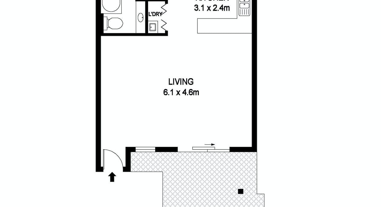 105/37 Pacific Drive, Port Macquarie, NSW, 2444 - Floorplan 1