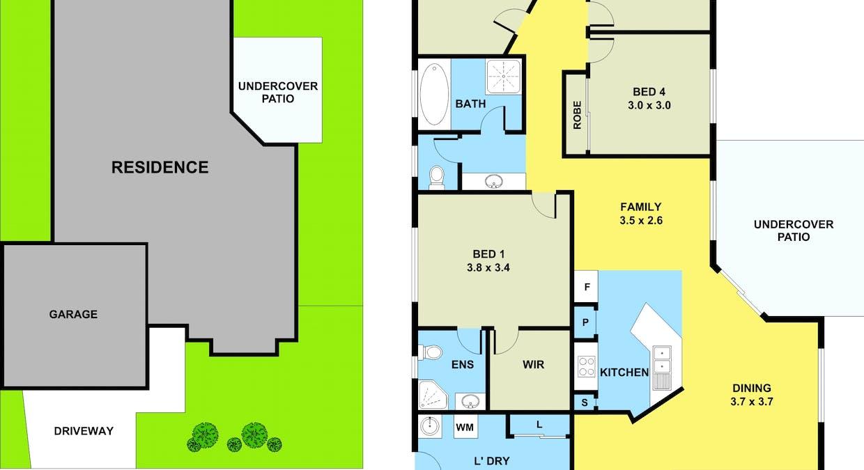 12 Fred Pham Crescent, Doolandella, QLD, 4077 - Floorplan 1