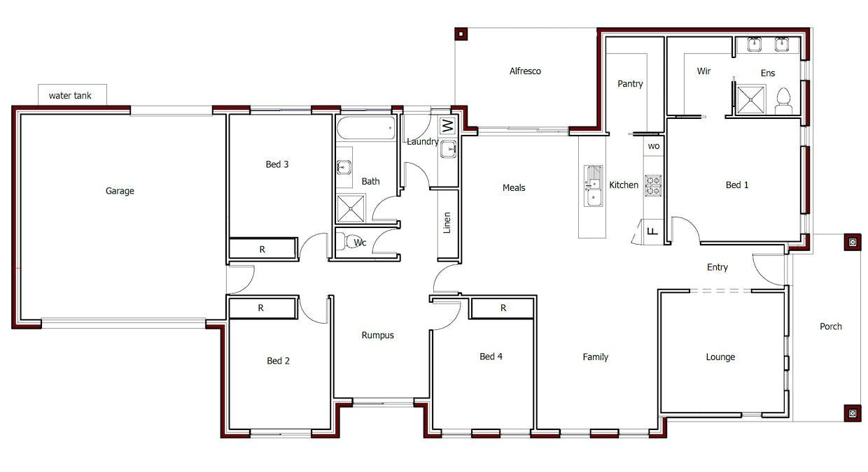 19 Keyte Street, Googong, NSW, 2620 - Floorplan 1