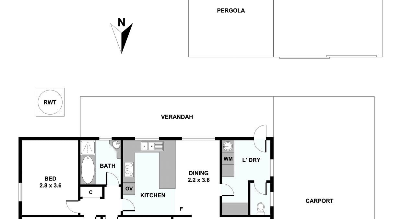 42 Blyth Road, Clare, SA, 5453 - Floorplan 1