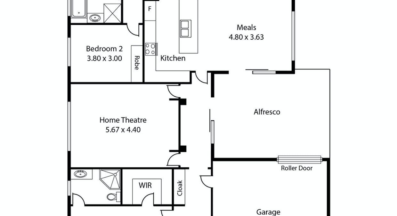 2 Oxford Street, Jamestown, SA, 5491 - Floorplan 1