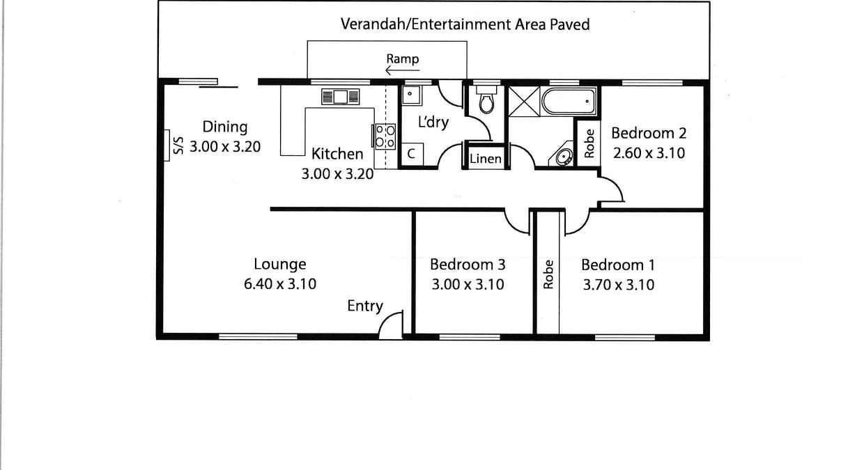 6 Collins Street, Jamestown, SA, 5491 - Floorplan 1