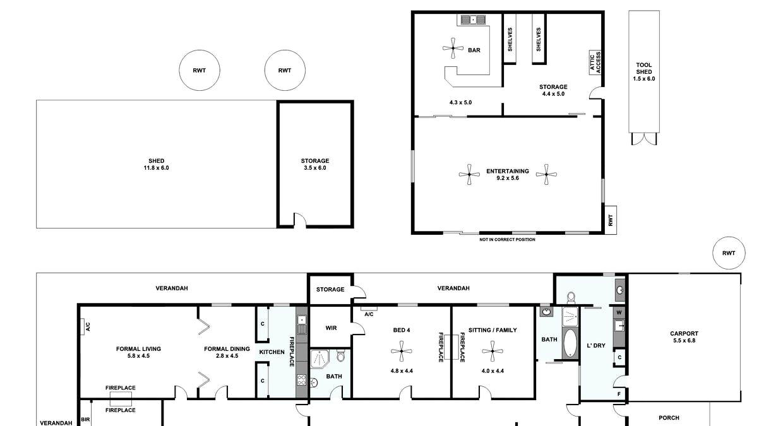 16 Tregony Street, Burra, SA, 5417 - Floorplan 1