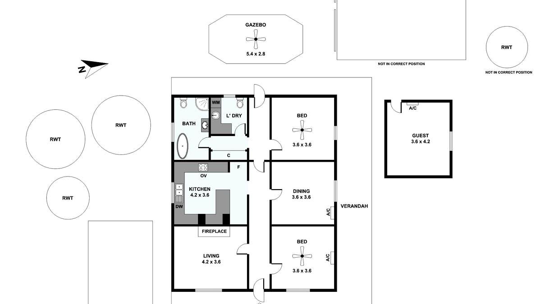 57 Springvale Road, Watervale, SA, 5452 - Floorplan 1