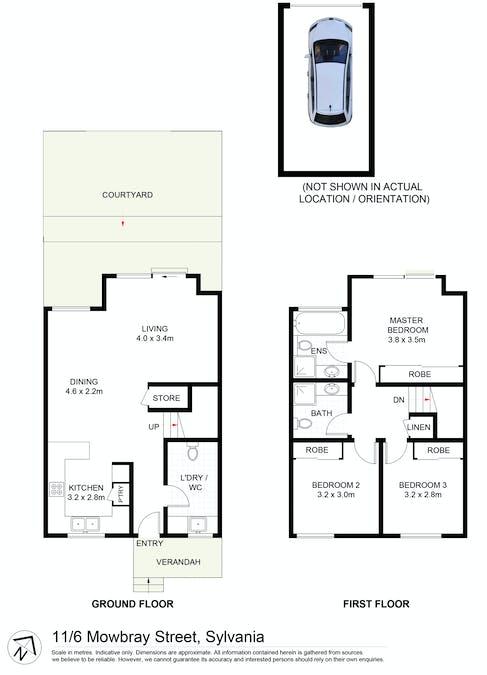 11/6 Mowbray Street, Sylvania, NSW, 2224 - Floorplan 1