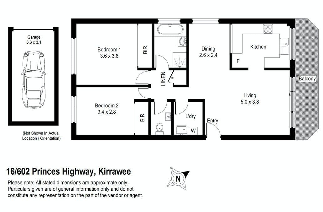 16/602 Princes Highway, Kirrawee, NSW, 2232 - Floorplan 1