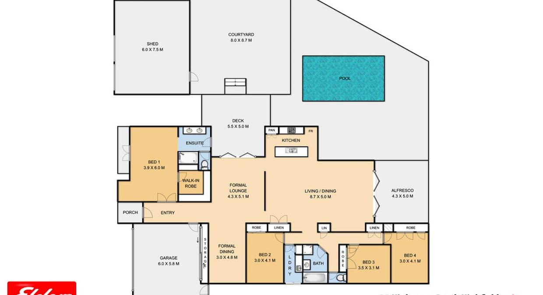 39 Highgrove Drive, Highfields, QLD, 4352 - Floorplan 1