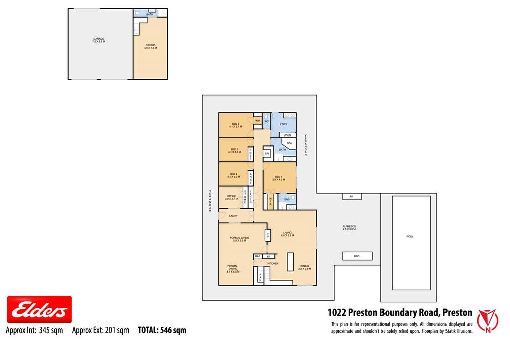 1022 Preston Boundary Road, Preston, QLD, 4352 - Floorplan 1