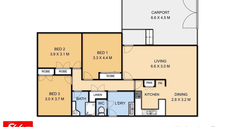 22 Mina Street, Rangeville, QLD, 4350 - Floorplan 1