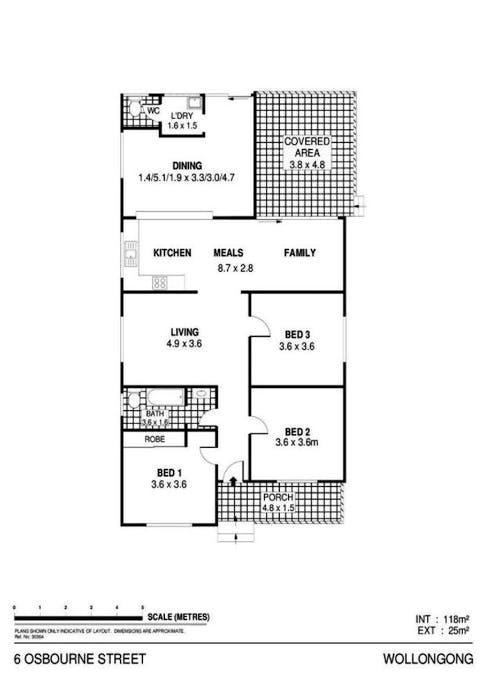 6 Osborne Street, Wollongong, NSW, 2500 - Floorplan 1