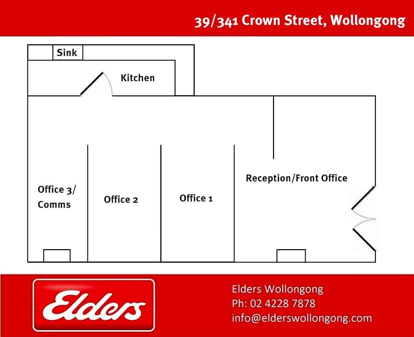 Wollongong, NSW, 2500 - Floorplan 1