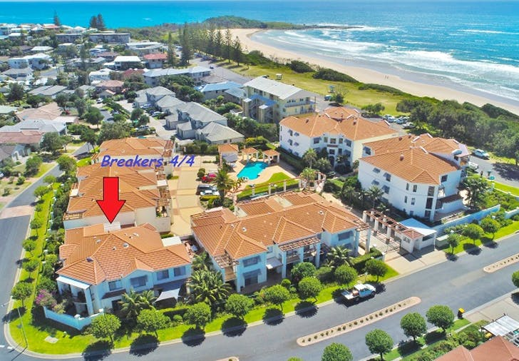Breakers 4/4 18-20 Pacific Parade, Yamba, NSW, 2464