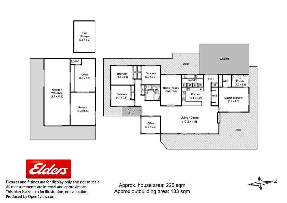 26 Corbys Road, Kettering, TAS, 7155 - Floorplan 1