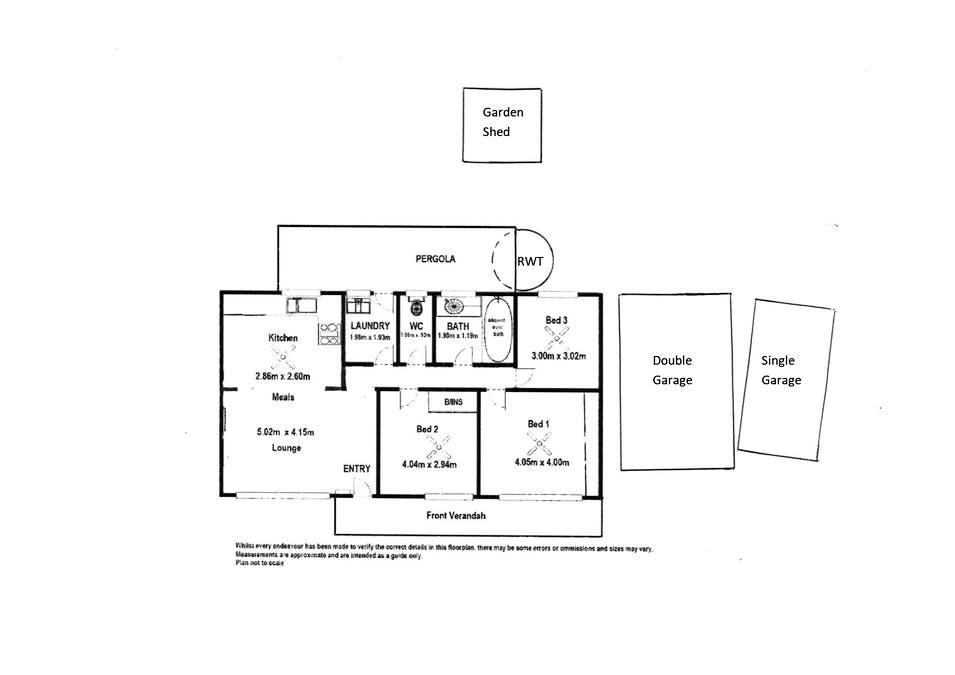 13 Manning Street, Tailem Bend, SA, 5260 - Floorplan 1