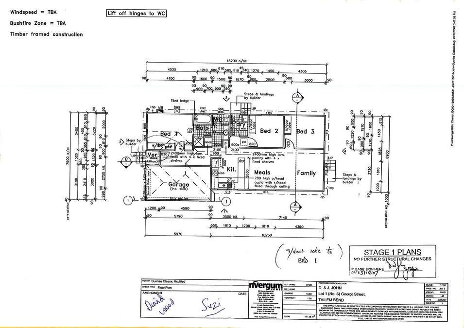 6B George Street, Tailem Bend, SA, 5260 - Floorplan 1