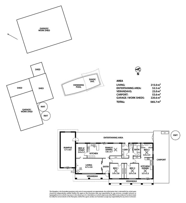 12-14 Bremer Rd, Murray Bridge, SA, 5253 - Floorplan 1