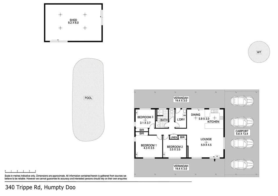 340 Trippe Road, Humpty Doo, NT, 0836 - Floorplan 1