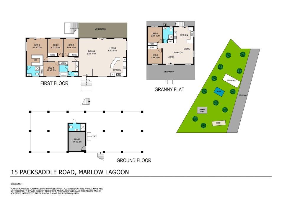 15 Packsaddle Road, Marlow Lagoon, NT, 0830 - Floorplan 1