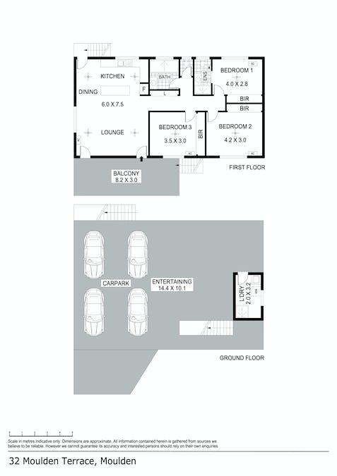 32 Moulden Terrace, Moulden, NT, 0830 - Floorplan 1