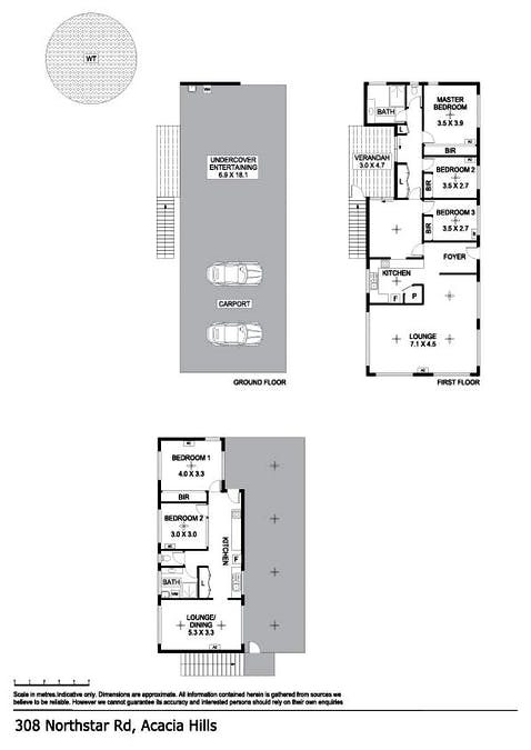 308 Northstar Road, Acacia Hills, NT, 0822 - Floorplan 1