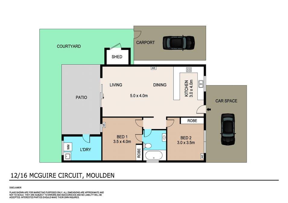 12/16 Mcguire Circuit, Moulden, NT, 0830 - Floorplan 1