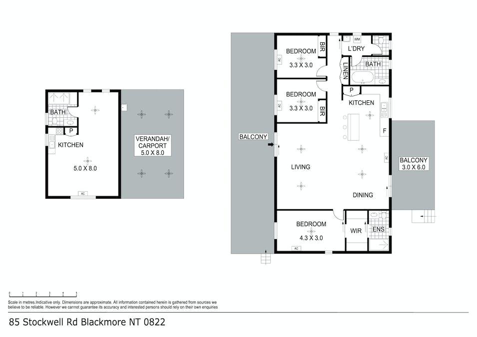 85 Stockwell Road, Blackmore, NT, 0822 - Floorplan 1