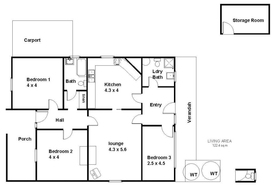 18 Crawford Terrace, Berri, SA, 5343 - Floorplan 1