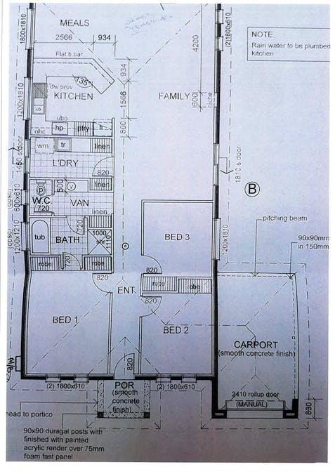 23B Marschall Street, Waikerie, SA, 5330 - Floorplan 1