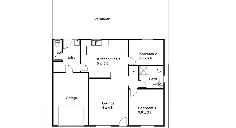 1/2 Sturt Street, Barmera, SA, 5345 - Floorplan 1