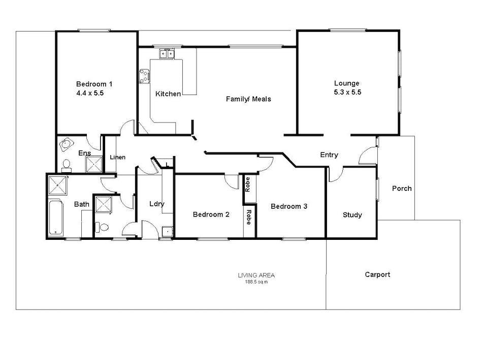 14 Padman Court, Berri, SA, 5343 - Floorplan 1