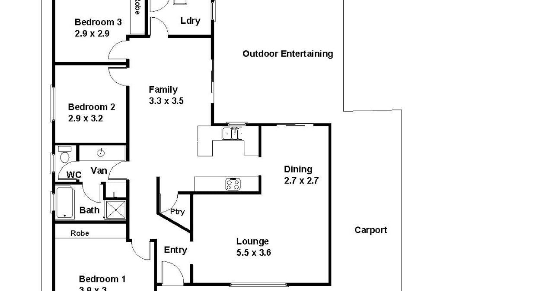 12 Korinthos Street, Renmark, SA, 5341 - Floorplan 1