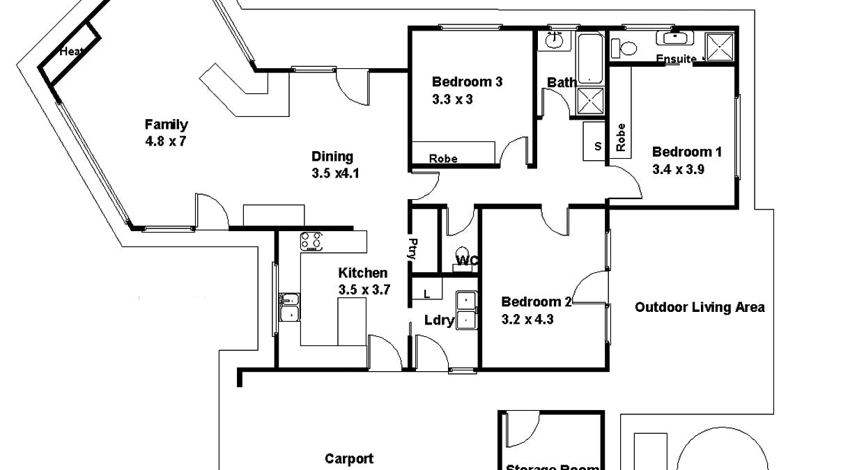 230 Bookmark Avenue, Renmark, SA, 5341 - Floorplan 1