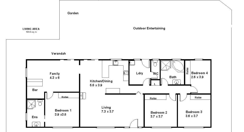 79 Slaughter Road, Loveday, SA, 5345 - Floorplan 1