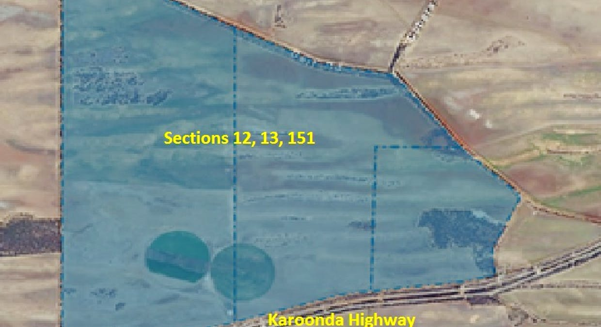 Sections 12, 13 And 151 Hundred Of Allen, Caliph, SA, 5310 - Floorplan 1