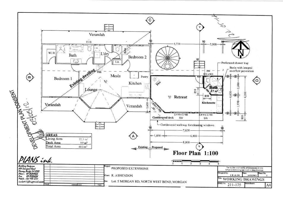 8870 Goyder Highway, Morgan, SA, 5320 - Floorplan 1