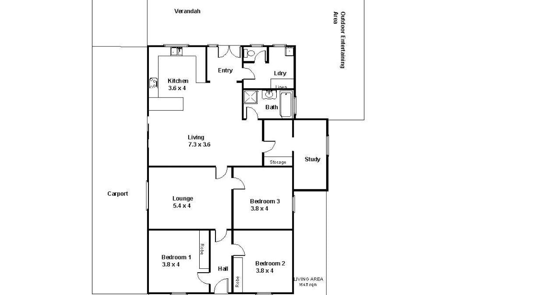 189 Fifteenth Street, Renmark, SA, 5341 - Floorplan 1