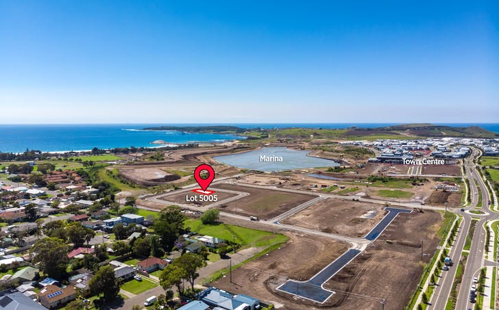 Lot 5005 Aquatic Drive And Oystercatcher Way, Shell Cove, NSW, 2529 - Image 1