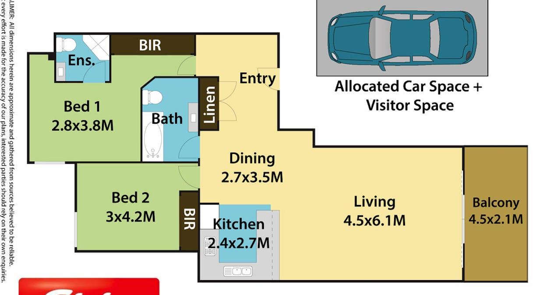 78/56-66 Lakeside Pde, Jordan Springs, NSW, 2747 - Floorplan 1