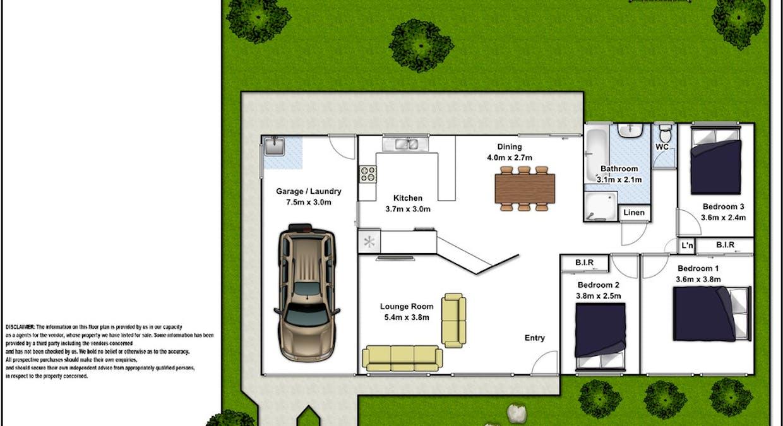 6 Gatehouse Circuit, Werrington Downs, NSW, 2747 - Floorplan 1