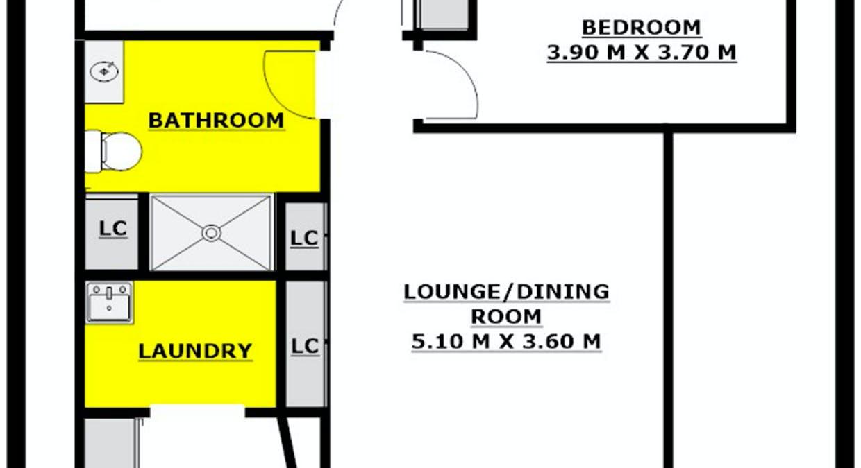 Unit 1, 2 Park Road, Wallacia, NSW, 2745 - Floorplan 1