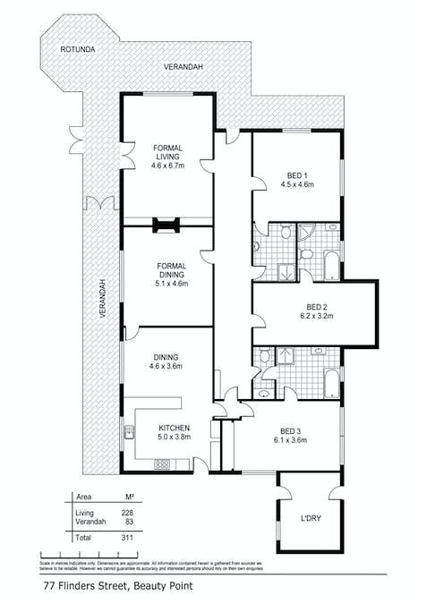 77 Flinders Street, Beauty Point, TAS, 7270 - Floorplan 1