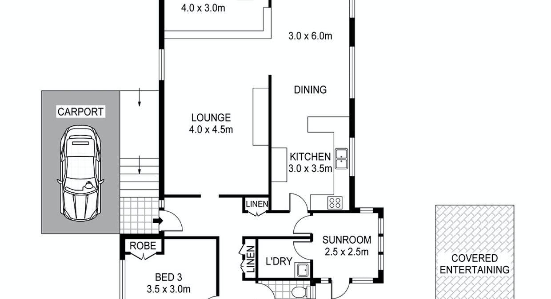 18 Highgate Street, Youngtown, TAS, 7249 - Floorplan 1