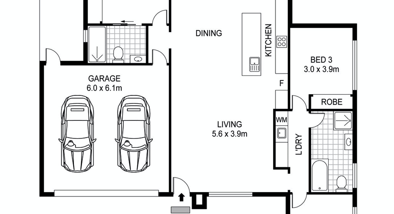 16/10 Jardine Crescent, Prospect Vale, TAS, 7250 - Floorplan 1