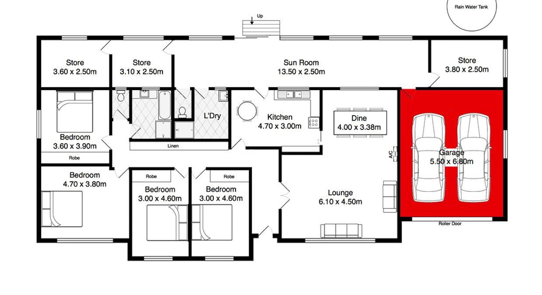 1160 Hindmarsh Tiers Road, Hindmarsh Tiers, SA, 5202 - Floorplan 1
