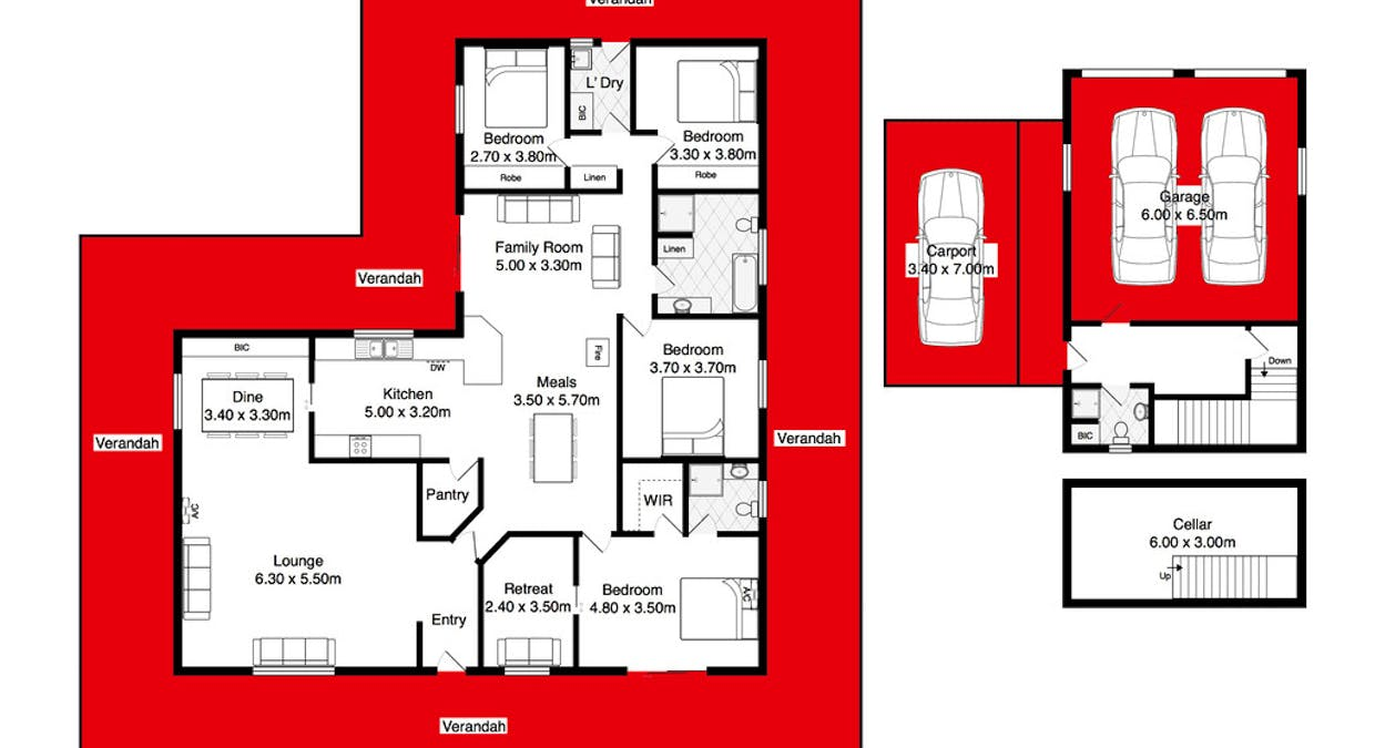 4A Adelaide Place, Currency Creek, SA, 5214 - Floorplan 1