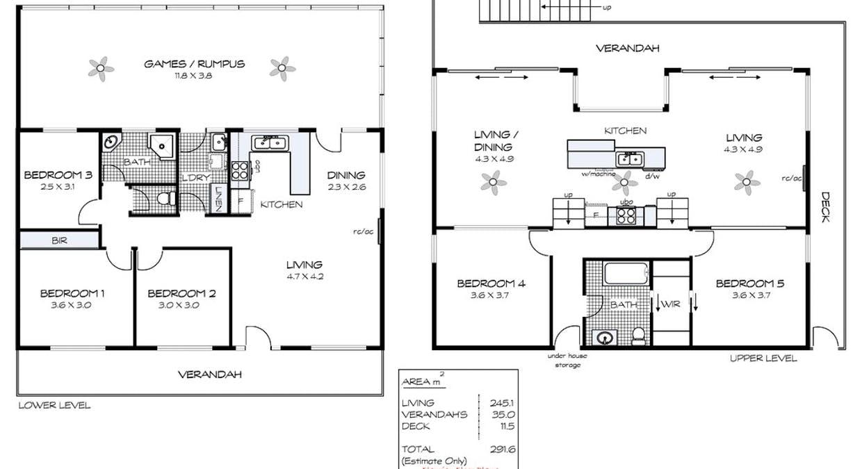 16 Bolger Way, Encounter Bay, SA, 5211 - Floorplan 1