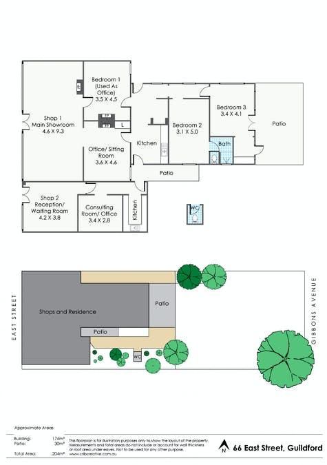 66 East Street, Guildford, WA, 6055 - Floorplan 1